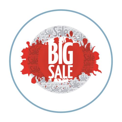 Big Sale Aufkleber