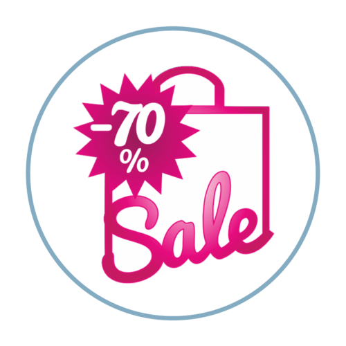Sale Sticker Prozente
