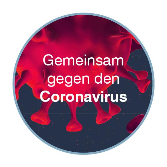 Gemeinsam gegen den Coronavirus
