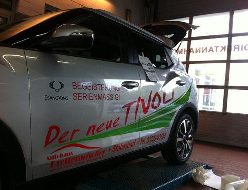 Autohaus Breitenwischer Fahrzeugbeschriftung