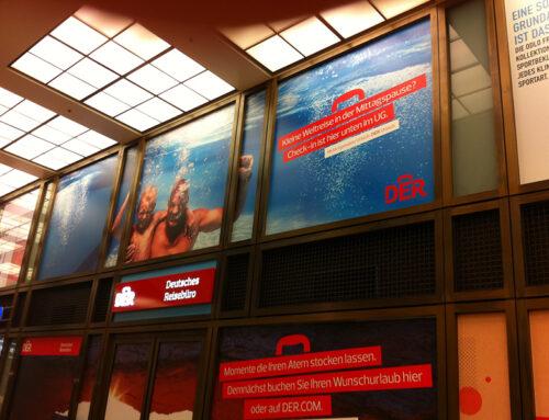 DER Reisebüro Schaufenster und Wandtattoo